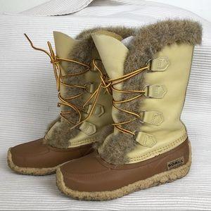Sorel sz 6 Kaufman Gabrielle Snow Boots EUC